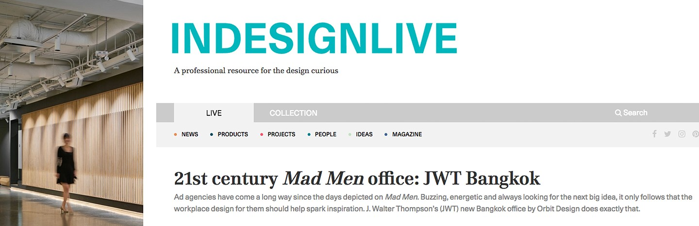 21st century Mad Men office: JWT Bangkok