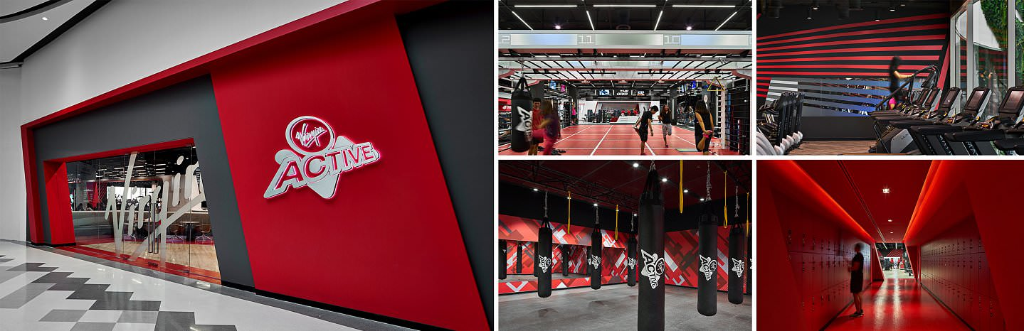 Virgin Active Red - Central West Gate
