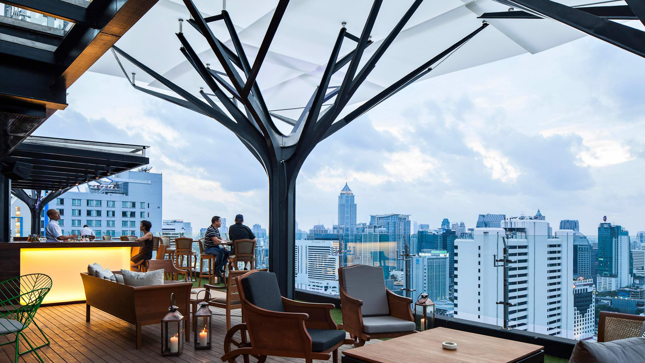 Above Eleven Rooftop Bar Amp Lounge Projects Orbit