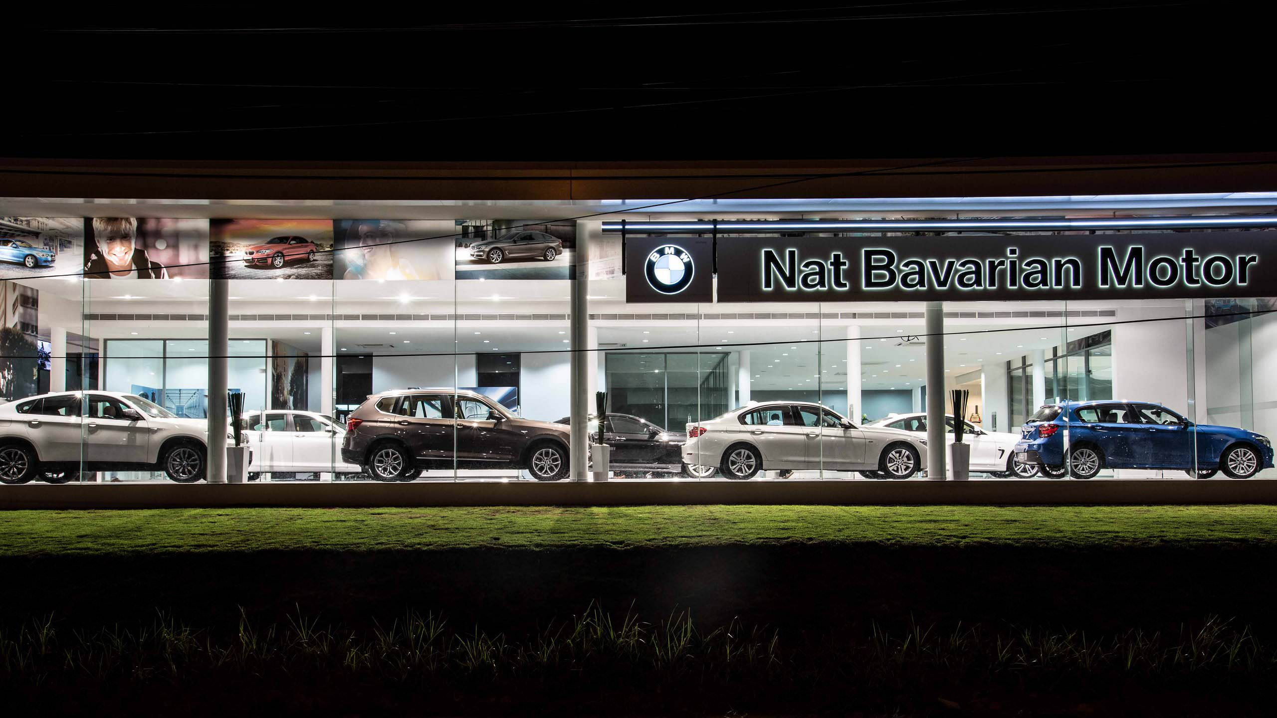 BMW Showroom at Udon Thani